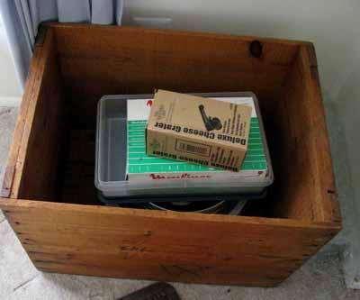 Woodboxopen